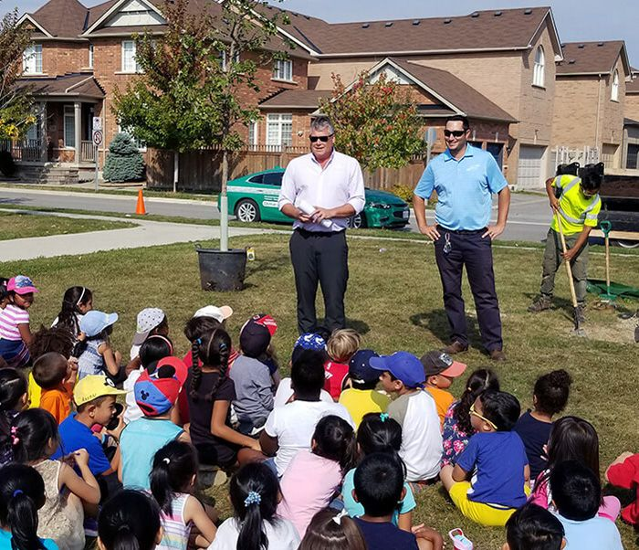 Clintar Takes Part in National Tree Day at Black Walnut Public School