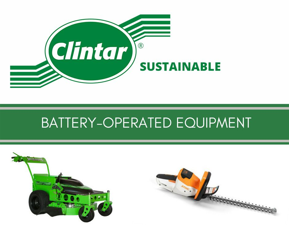 Clintar Sustainable Battery Operated Equipment