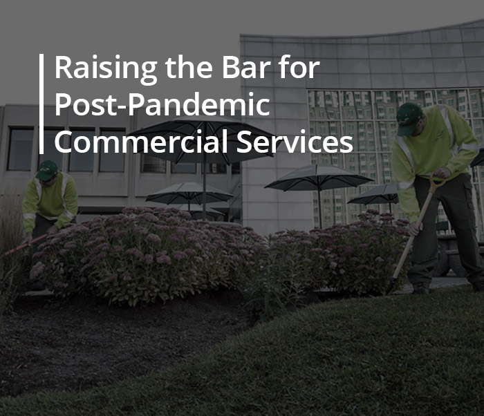 Raising the Bar for Post-Pandemic Commercial Services