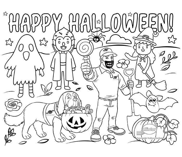 Clintar's First Annual Halloween Colouring Contest!